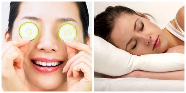 Một số cách chống lão hóa da vùng mắt đơn giản