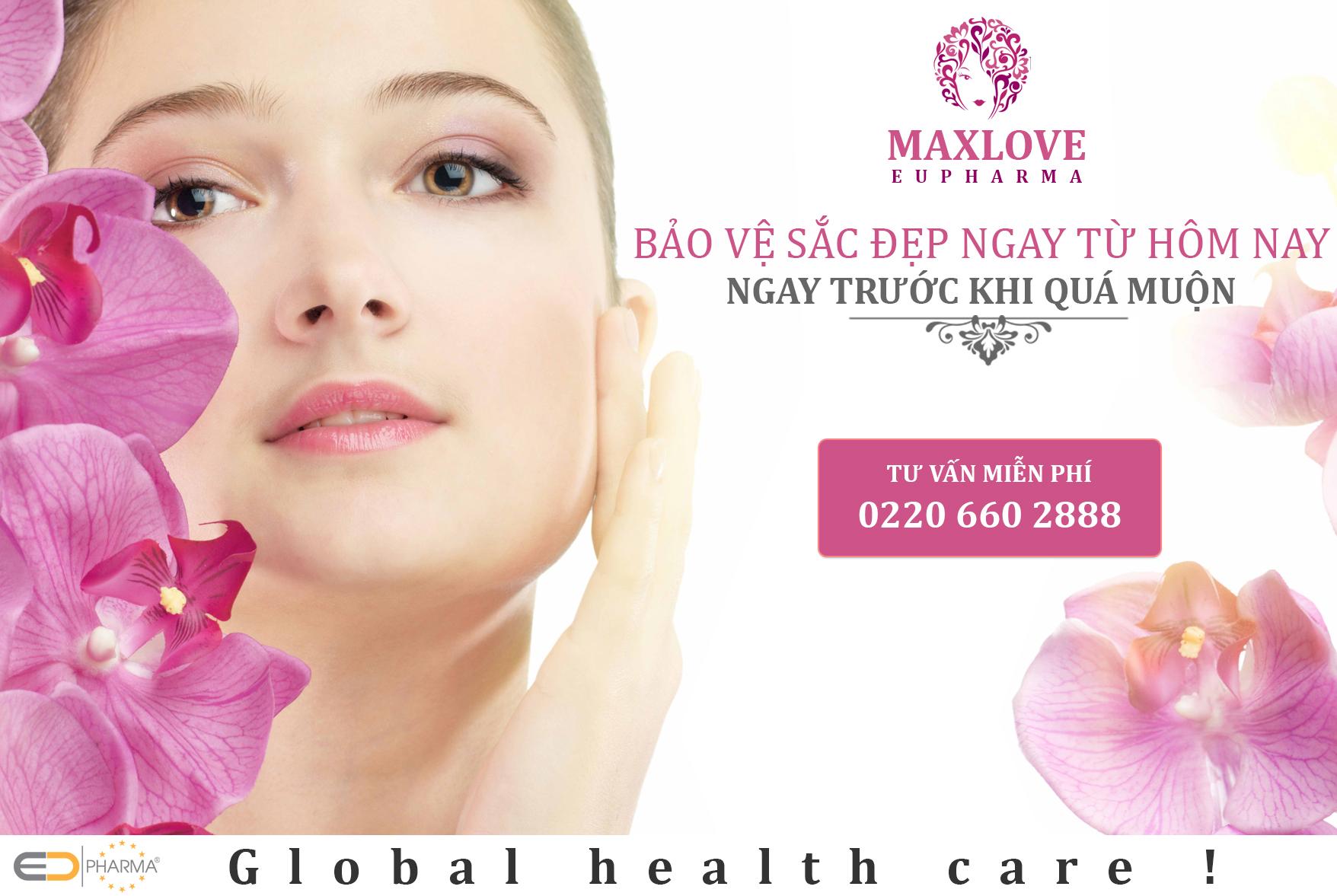 Maxlove -  1 sản phẩm hoàn hảo dành cho phụ nữ của EUPHARMA