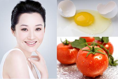 Cách tẩy nám da mặt hoàn hảo từ cà chua với lòng trắng trứng