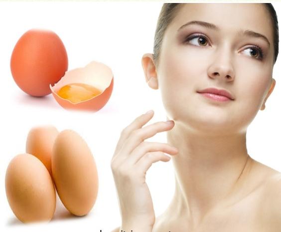trị nám da bằng mặt nạ trứng gà